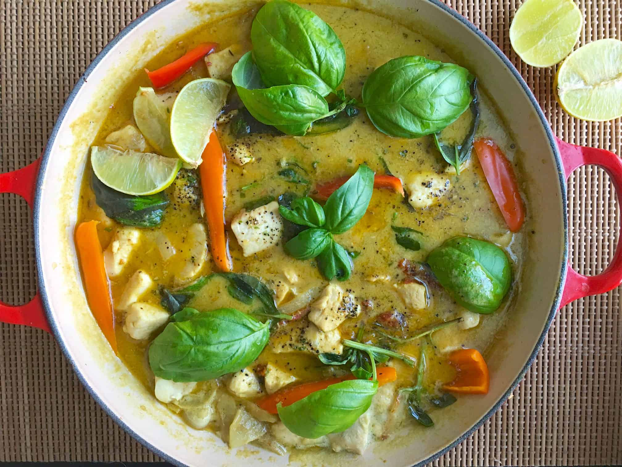 Thai-green-curry-chicken