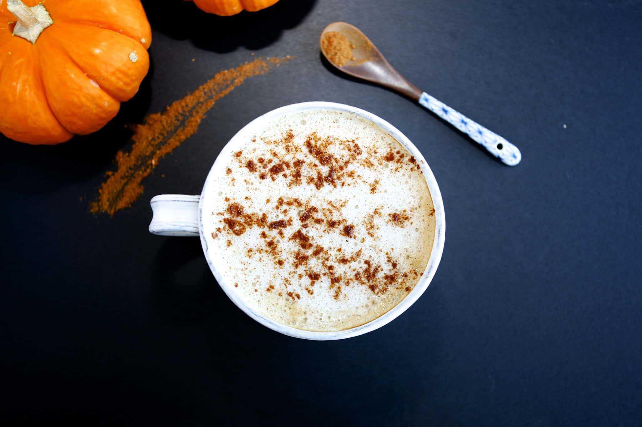 防彈咖啡 變化版- 防彈南瓜拿鐵 Low Carb Pumpkin Spice Latte