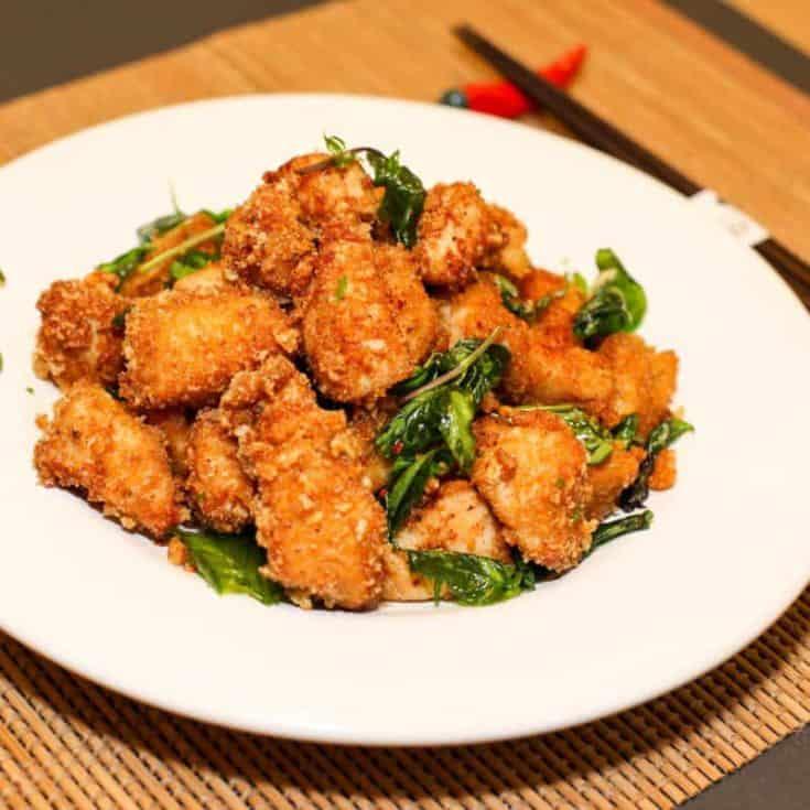 [中式生酮食譜] 生酮鹹酥雞 – 完全無粉卻超級香脆!?秘密武器是…??