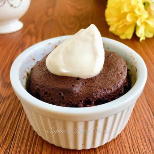 免烤生酮巧克力蛋糕