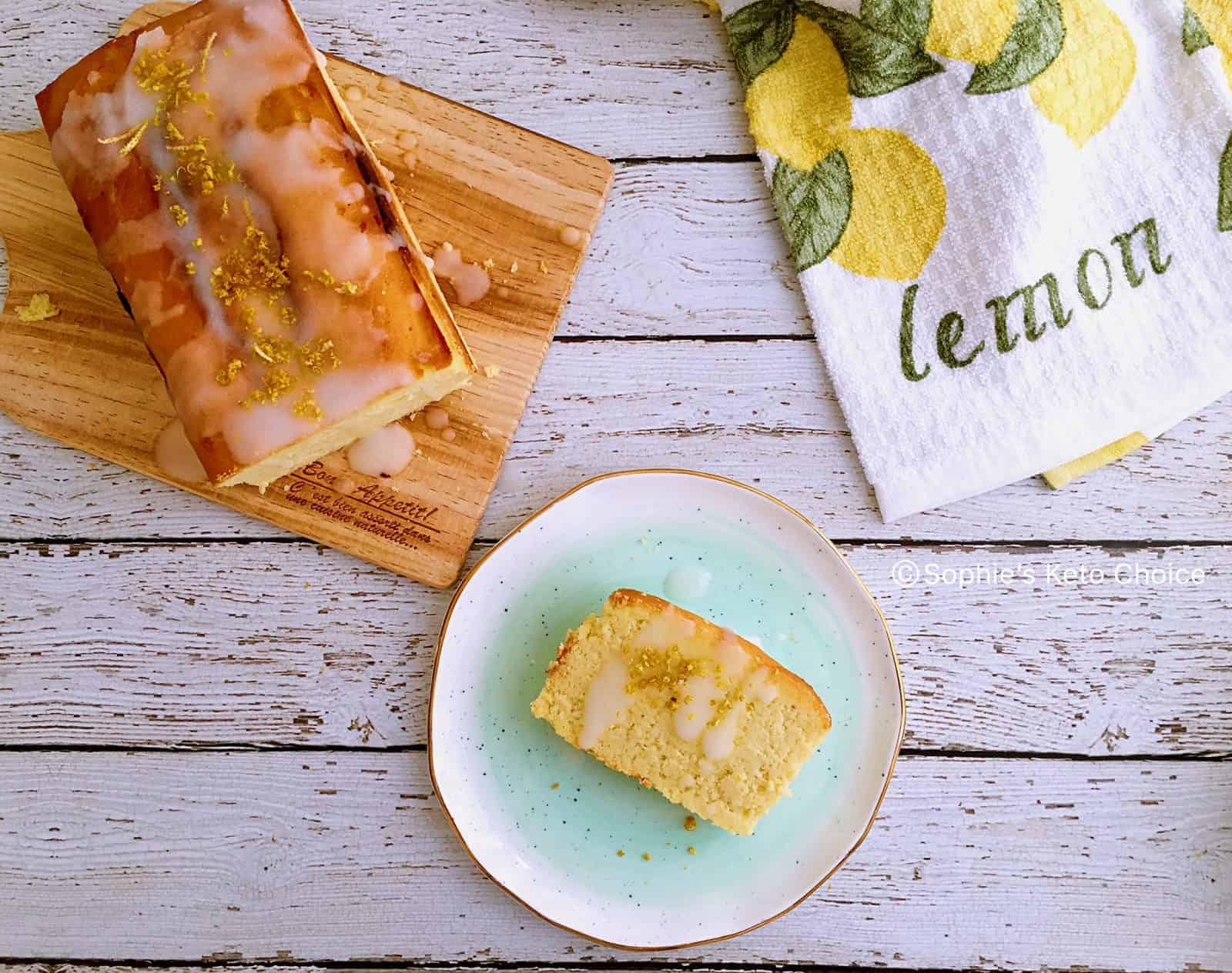 生酮老奶奶檸檬蛋糕 -改造經典甜點成低碳版!網友都說讚!附製作影片