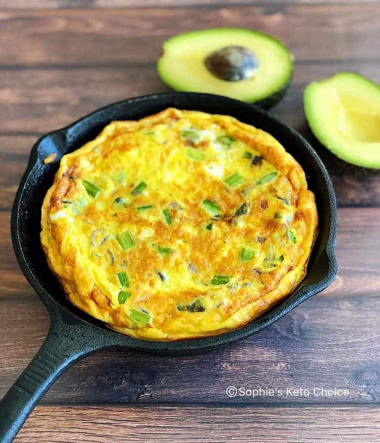 蘆筍培根烘蛋 食譜 生酮早餐 早午餐食譜