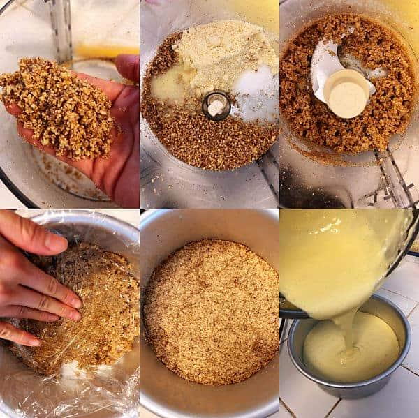 生酮檸檬起司蛋糕步驟圖
