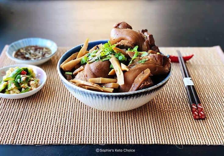 筍絲滷豬腳- 皮Q肉嫩好滿足- 年菜/月子餐輕鬆用壓力鍋搞定