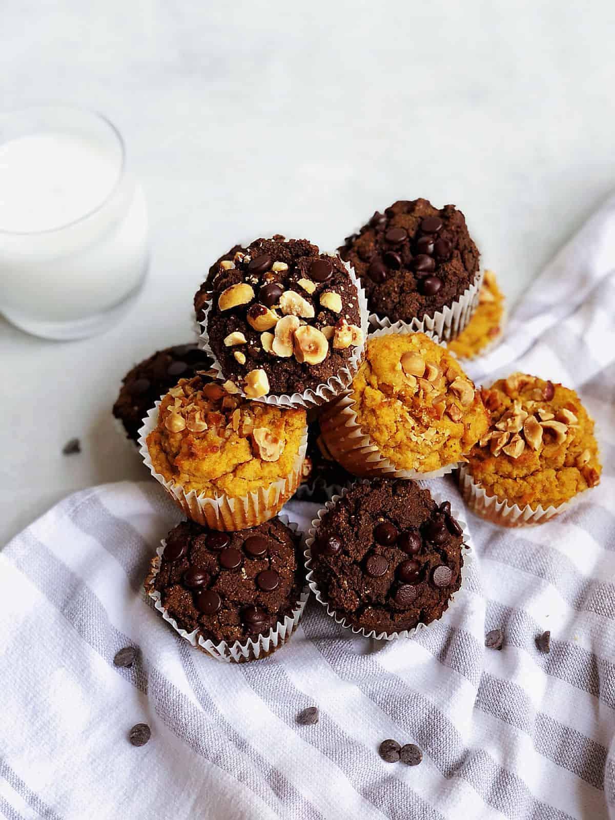 生酮巧克力馬芬 -濕潤鬆軟好甜蜜-無奶無麵粉-淨碳3.9g-無麩質