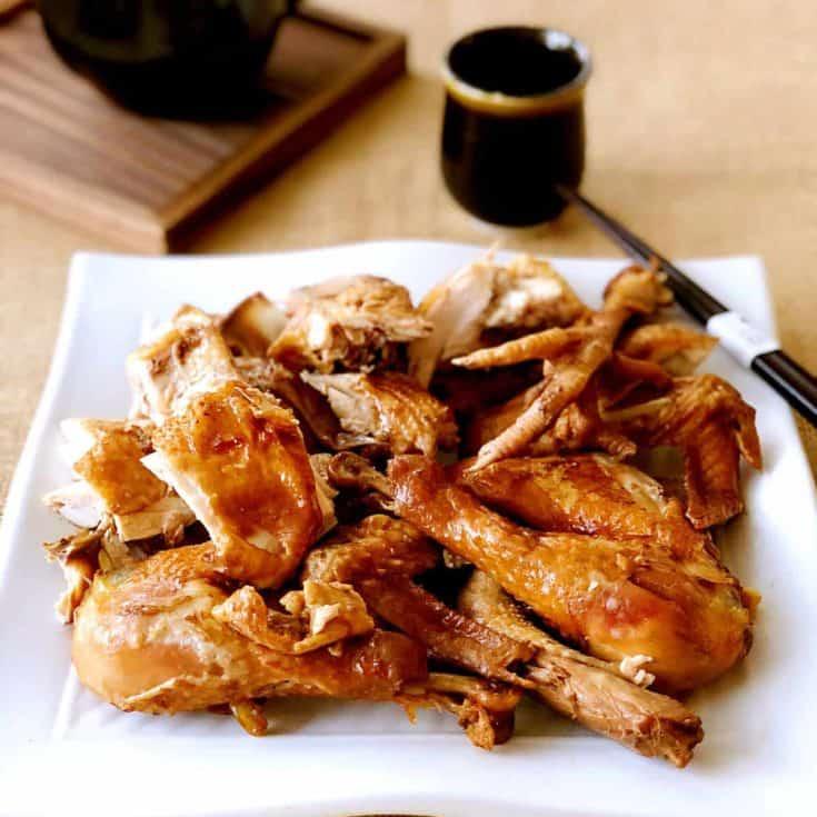 豉油雞 -嫩滑可口緊緻有彈性- Instant Pot壓力鍋輕鬆搞定!零廚藝超簡單!