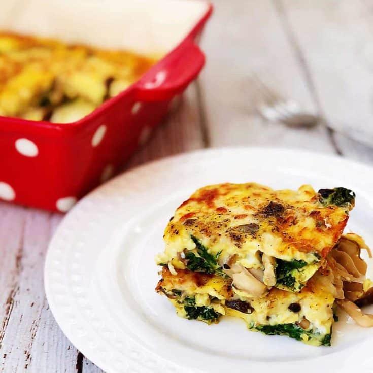 什錦蔬菜烤蛋 -簡單零失誤早餐-快速輕食開胃菜-蛋奶素-生酮友善