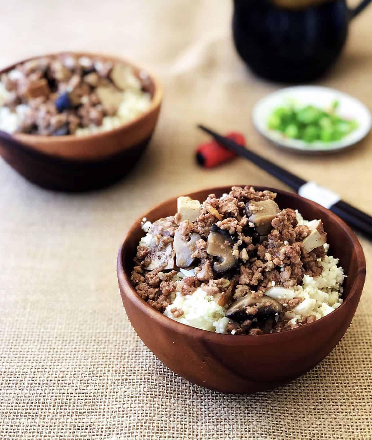 滷香菇豆干肉燥 – 讓肉燥更濃郁的秘方,用Instant Pot 壓力鍋超簡單