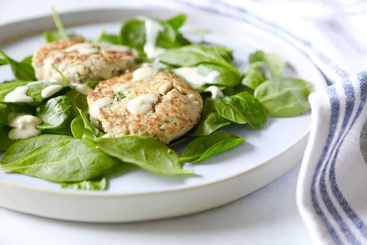 鮭魚豆腐排 生酮食譜 低碳 無麩質 快速晚餐