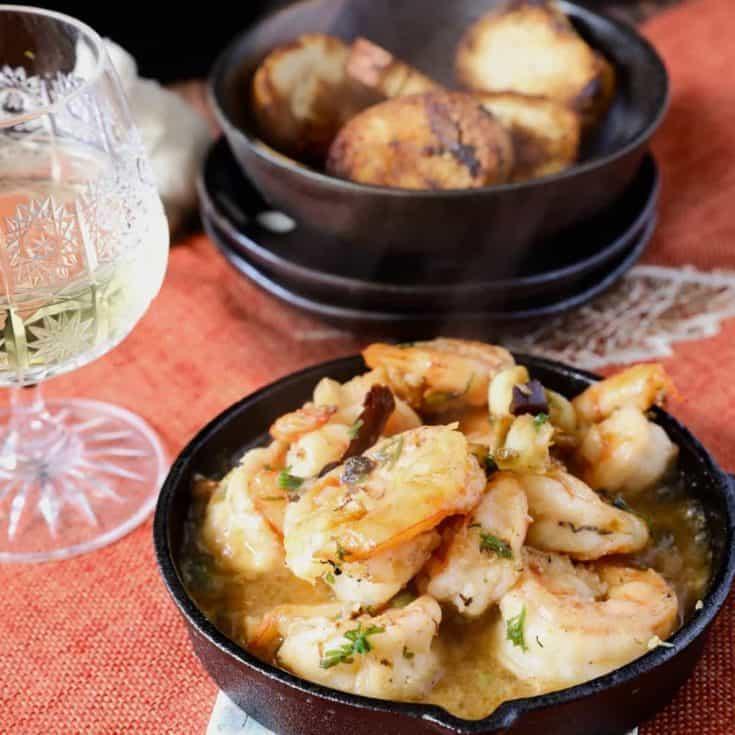 西班牙蒜頭蝦 Gambas al ajillo- 保證道地的西班牙tapas下酒菜食譜