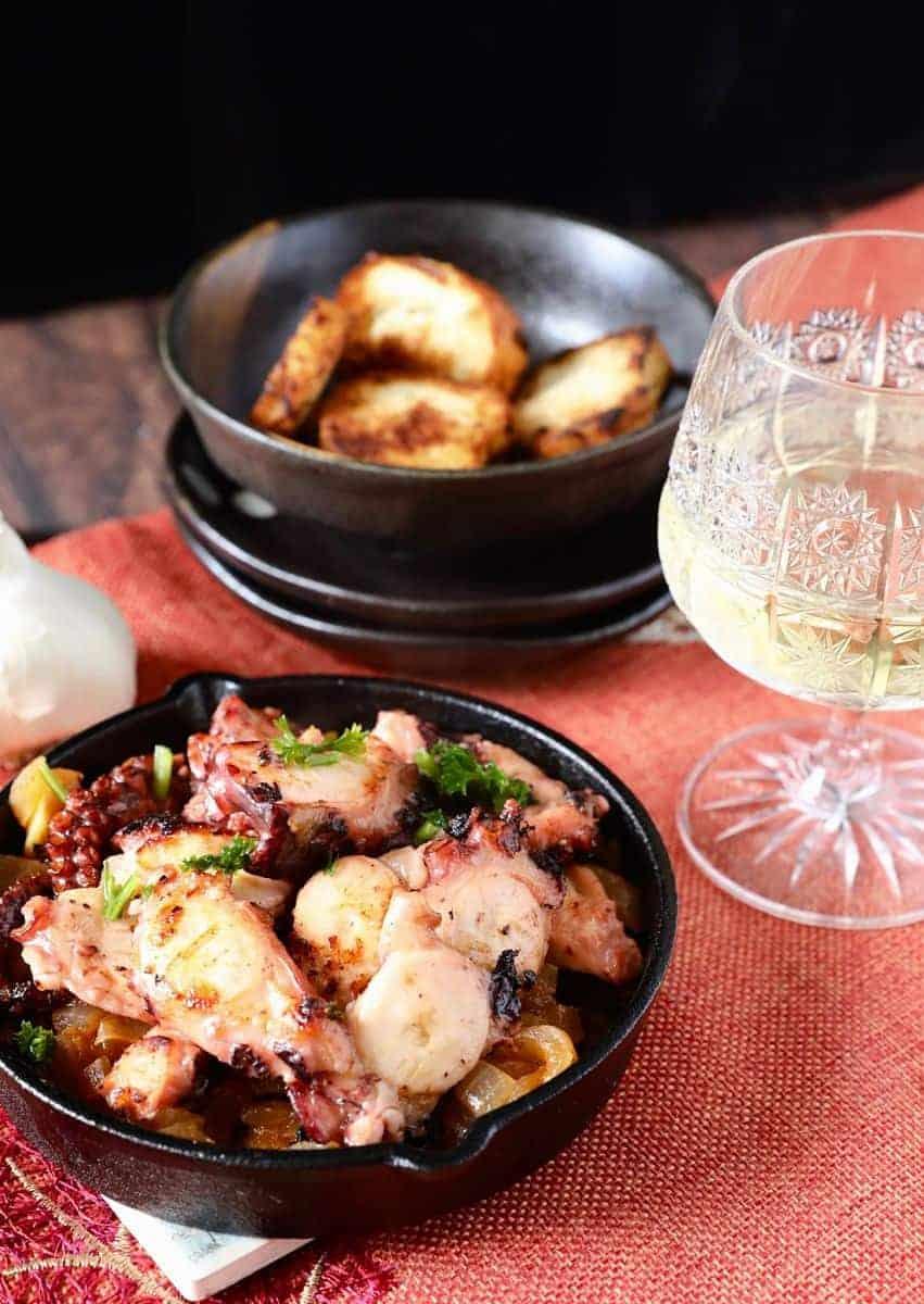 西班牙烤章魚