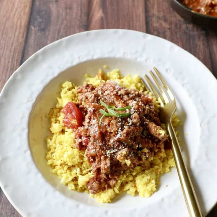 義大利蕃茄肉醬 – Instant Pot壓力鍋簡單快速,30分鐘就有濃郁燉肉醬!