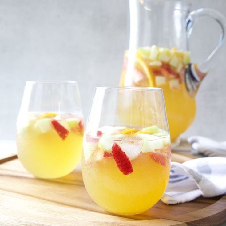 桑格利亞 Sangria 西班牙水果酒 -DIY夏日清涼飲品- 無糖低醣減醣飲料