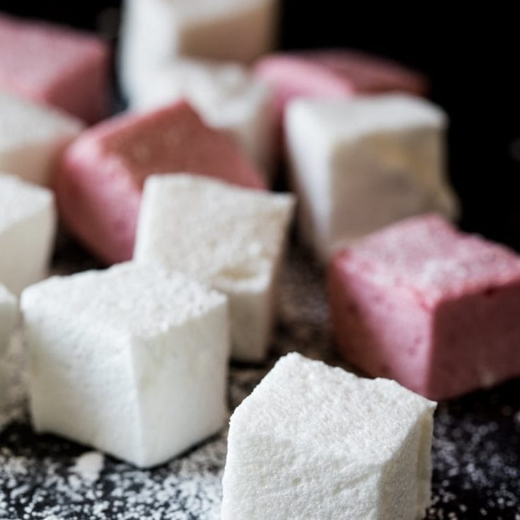 生酮 無糖棉花糖 sugar free marshmallow-只要3種材料 – 無蛋低醣低熱量