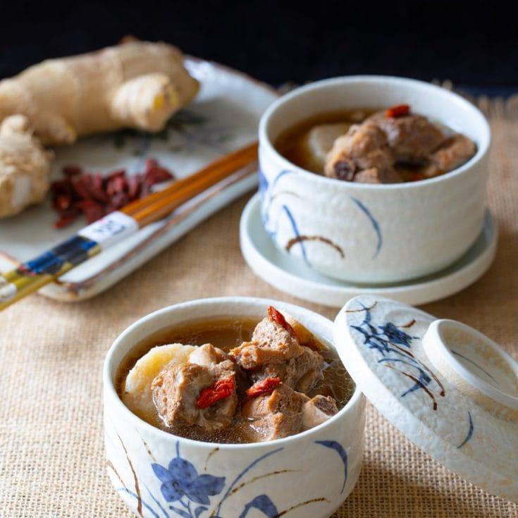 山藥排骨湯 -補身益氣-孕期的減醣飲食🤰🏻Instant Pot壓力鍋食譜