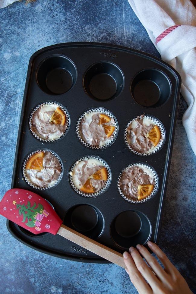 生酮柳橙巧克力起司蛋糕杯步驟圖
