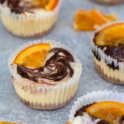 生酮柳橙巧克力起司蛋糕杯