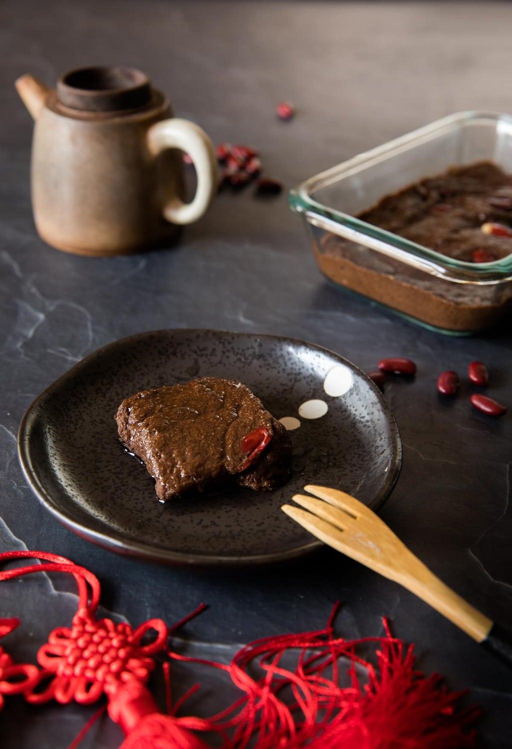 生酮紅豆年糕