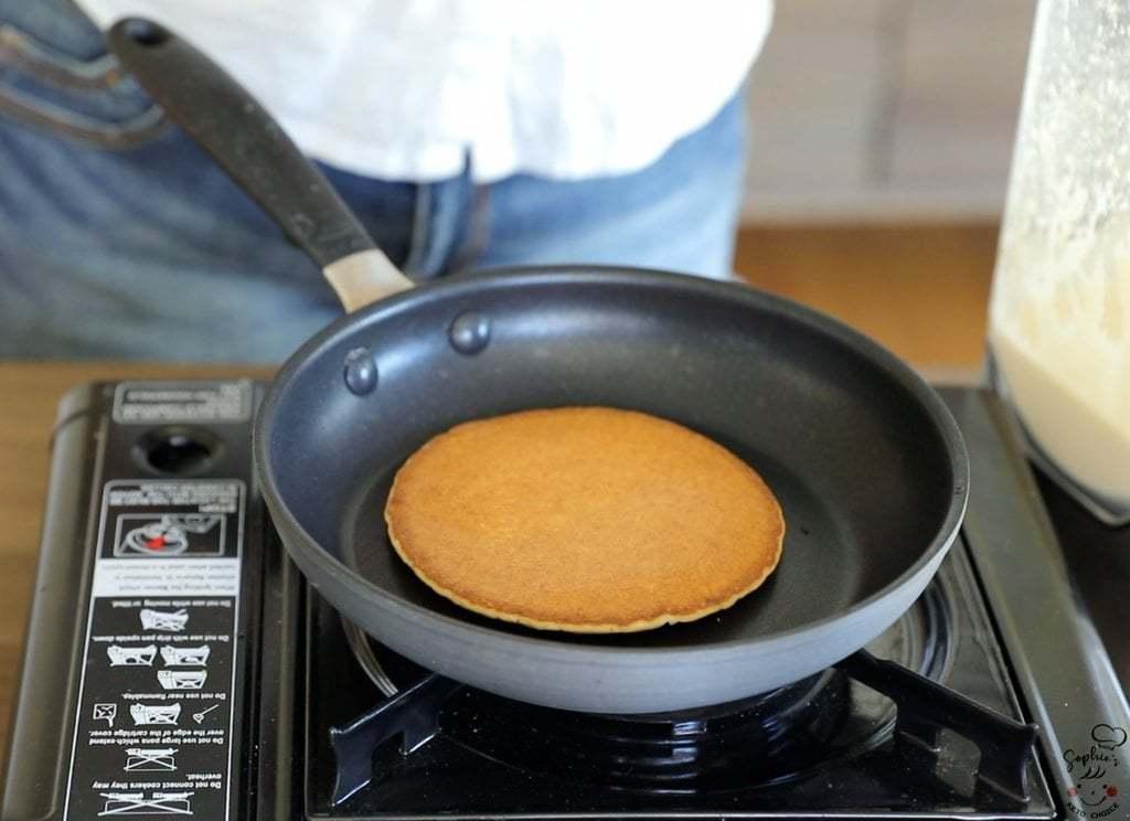 生酮平底鍋鬆餅