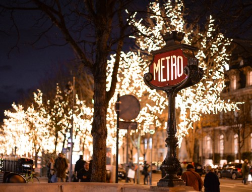 Illuminations de Noël à Paris
