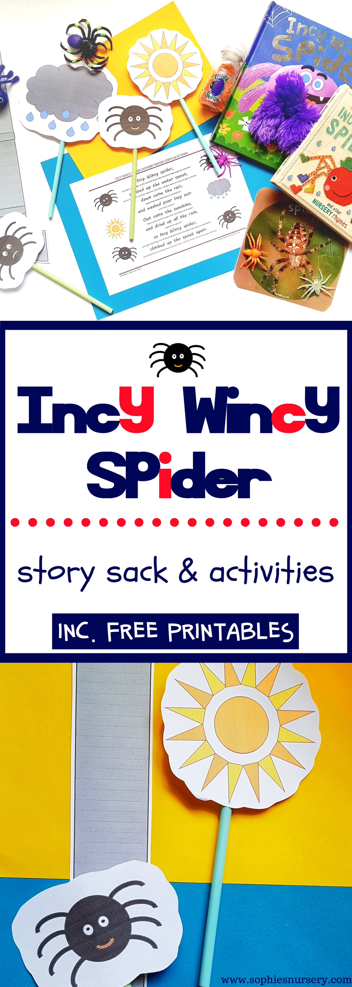 Incy Wincy Spider Song Amp Story Sack Activities