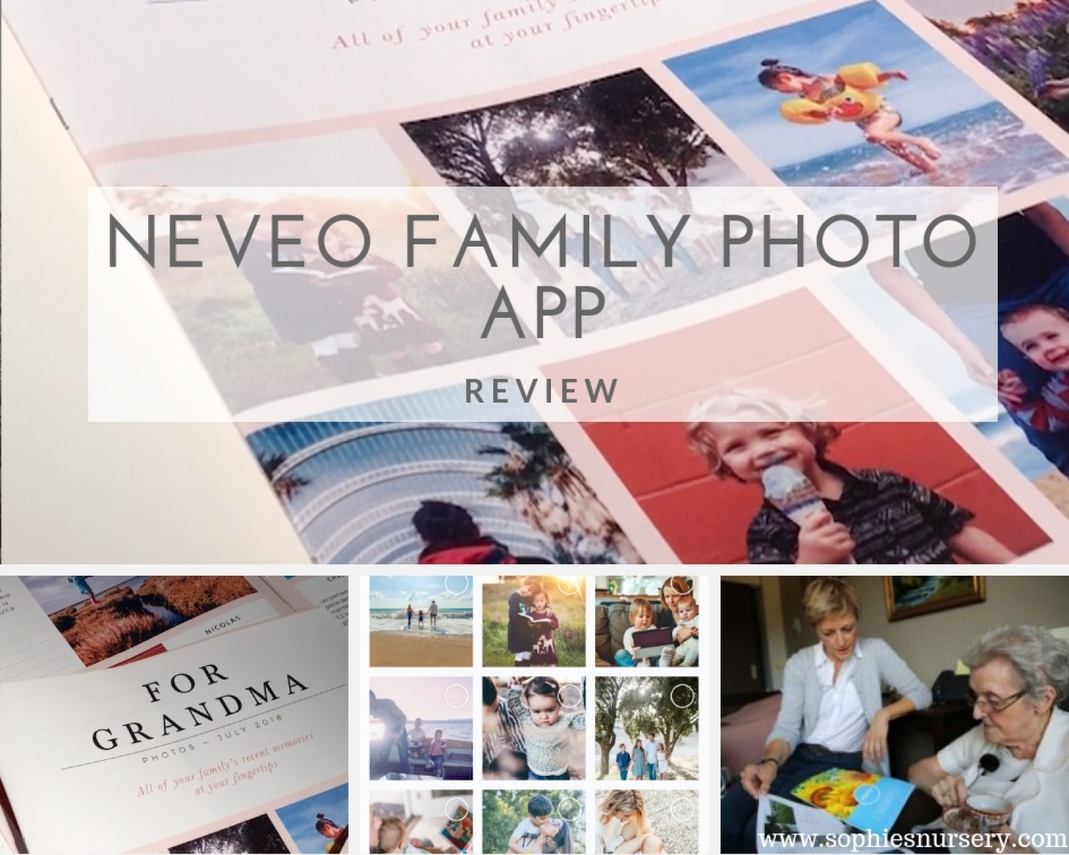 Neveo Family Photo App: Sharing Your Best Moments - Sophie's Nursery