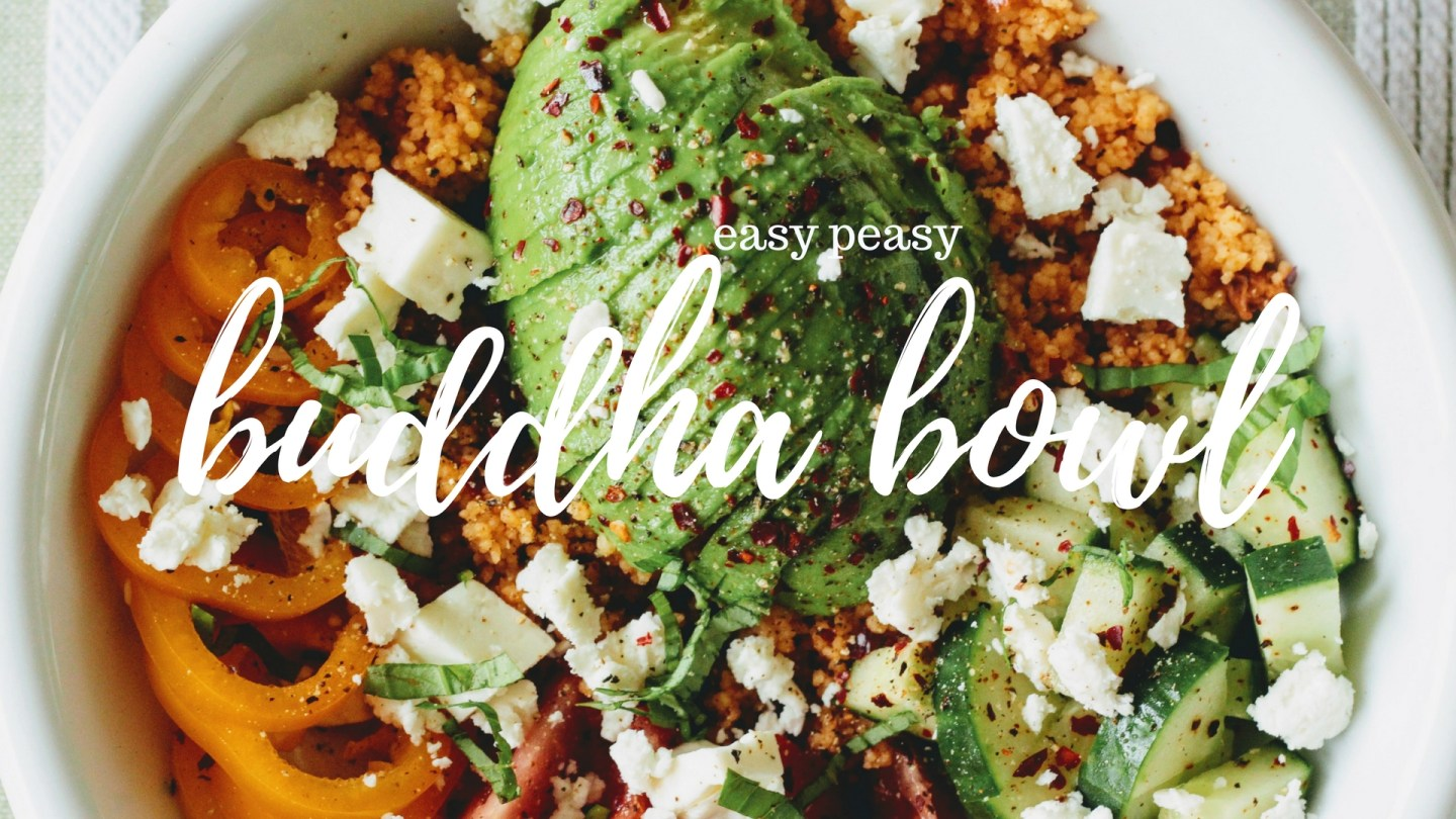 Easy Couscous 'Buddha Bowls'