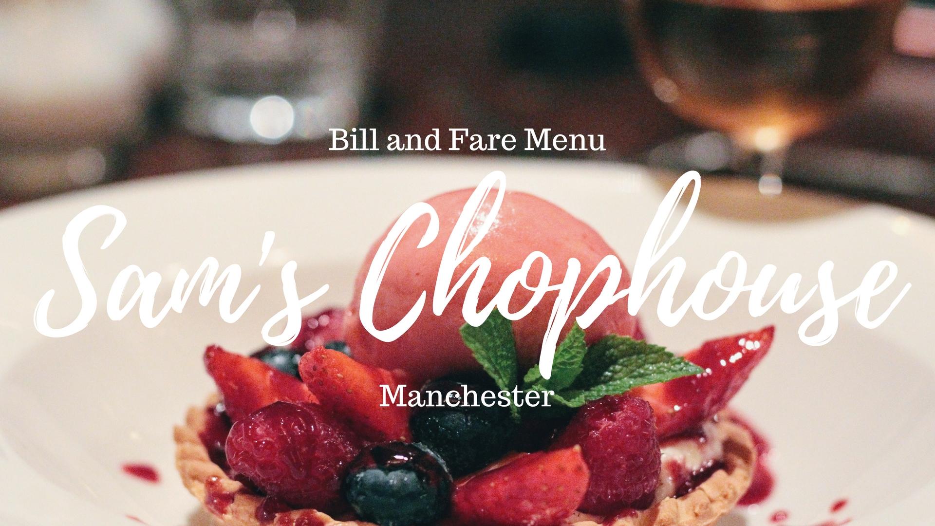 food review restaurant blog