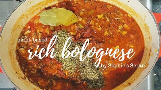 food blogger veganuary recipe