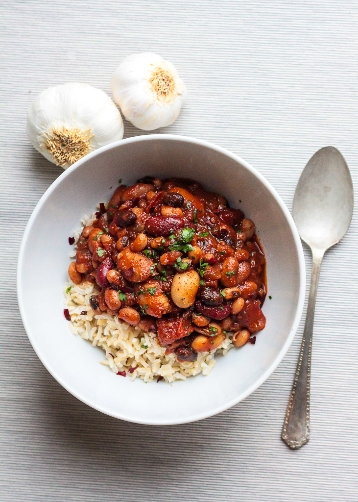 RECIPE | 10 bean chilli