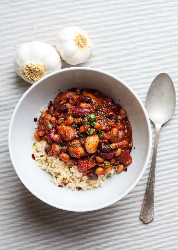RECIPE | 10 bean chilli