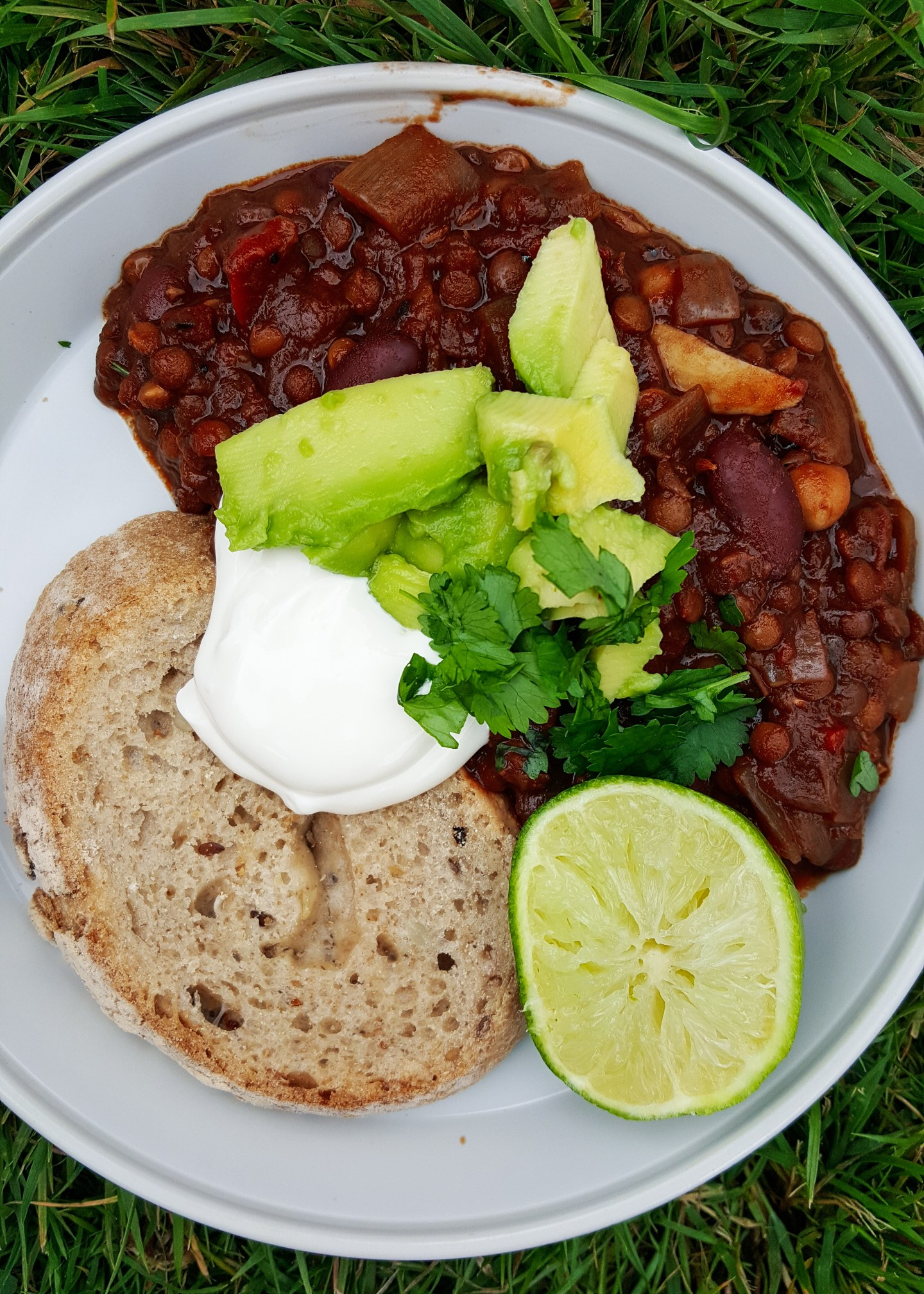 The Best Ever Campfire Chilli