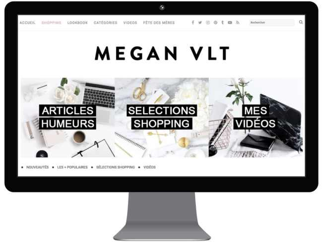 Megan VLT - 8 blogueuses incroyables