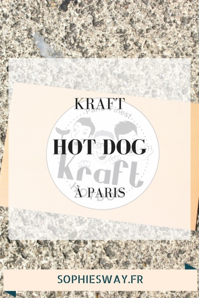 Kraft Hot Dog Paris