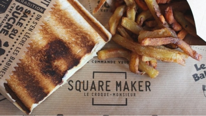 Square Maker : croque monsieur à labege 2