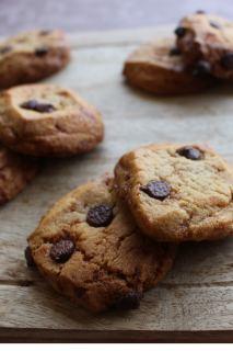 Pâte à cookies HERTA choco-caramel graphic