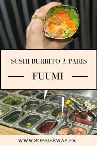 FUUMI - Sushi-burrito à Paris