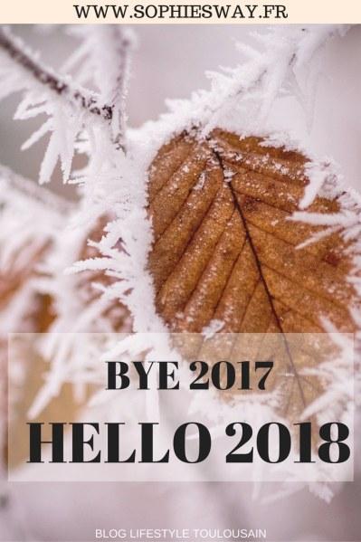 BYE 2017 | HELLO 2018 bilan et résolutions