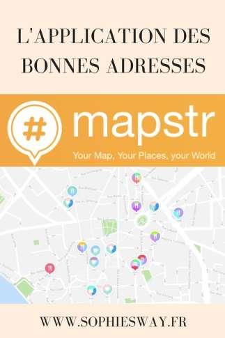 Mapstr : l'application des bonnes adresses