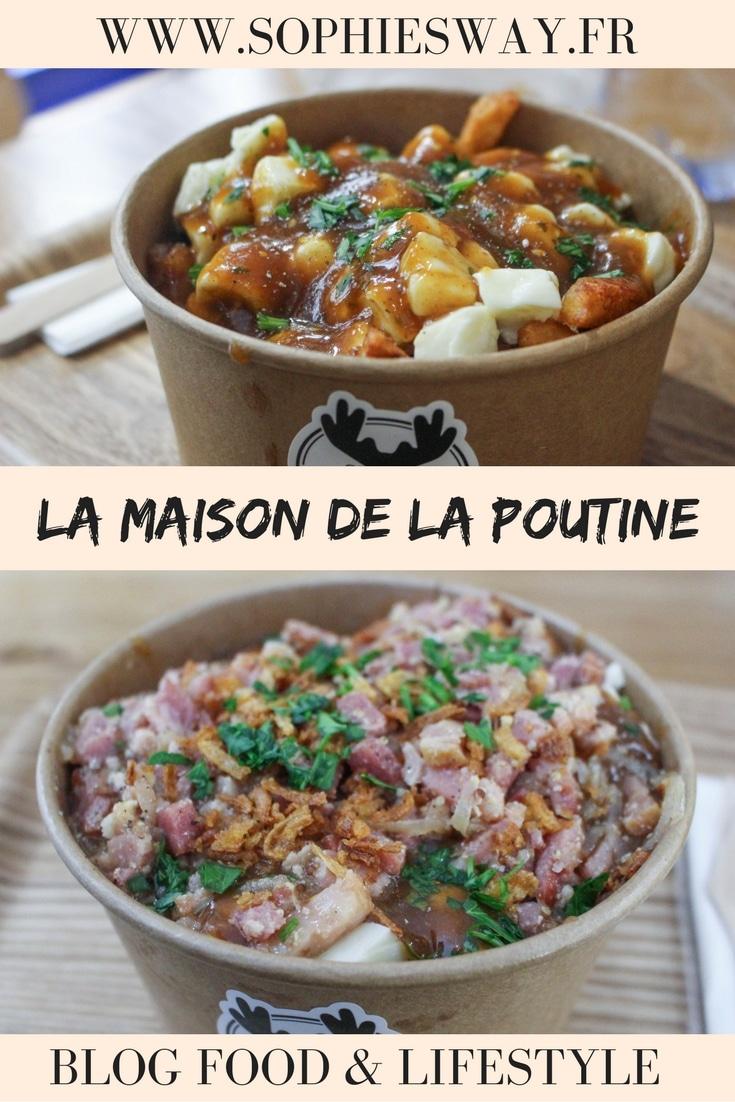 La maison de la poutine - restaurant Paris - Blog food & lifestyle