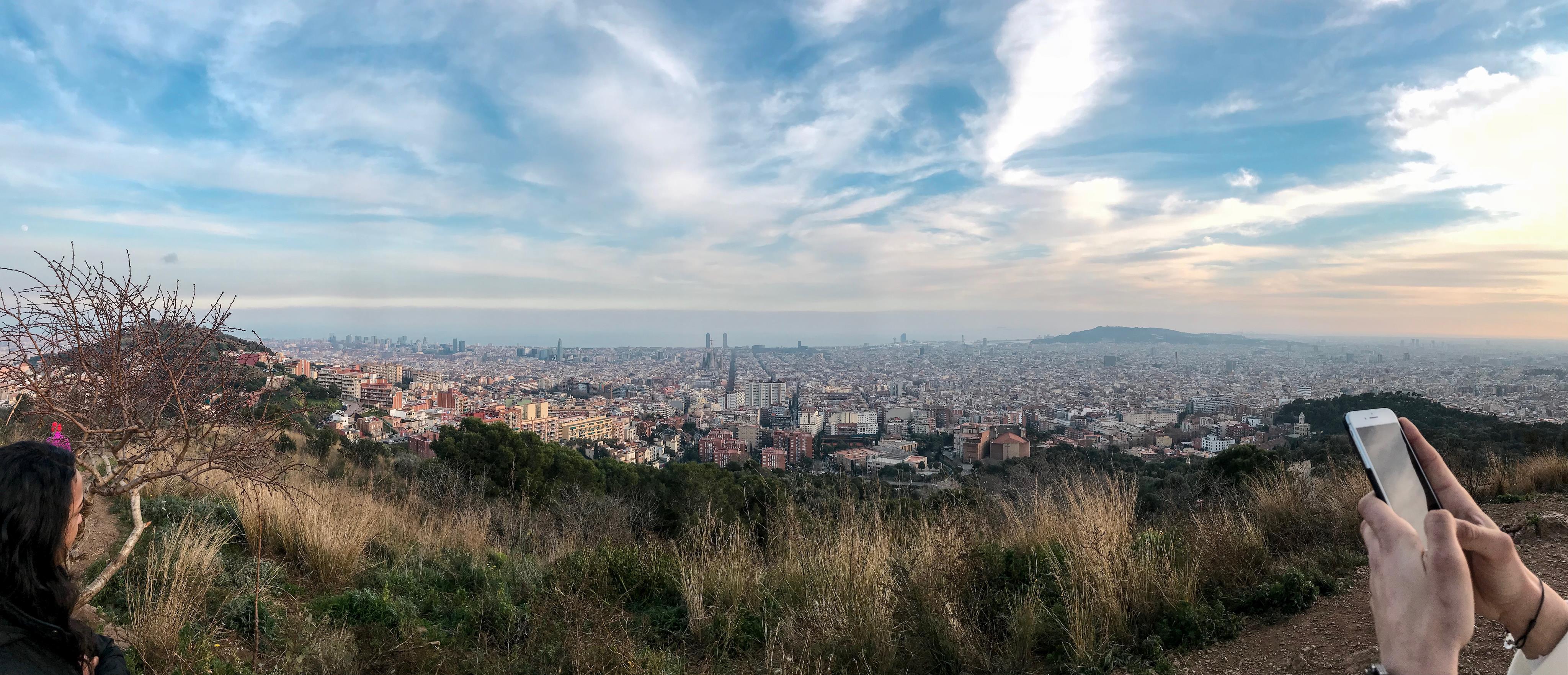 Barcelone : une journée au soleil !