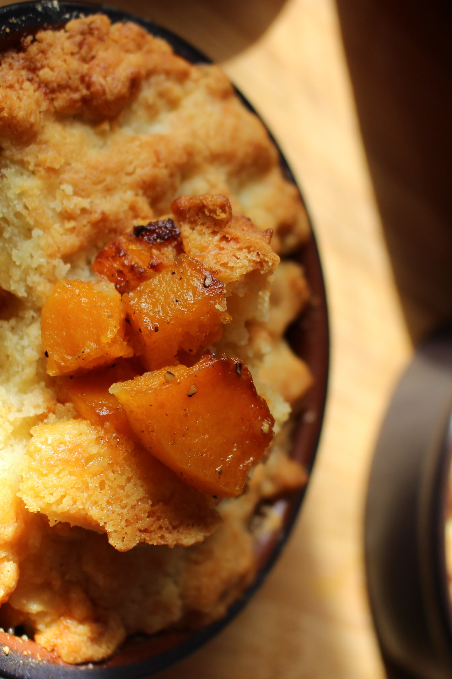 crumble de butternut
