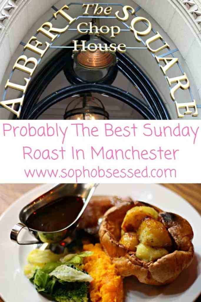 The Albert Square Chop House Sunday Roast Manchester