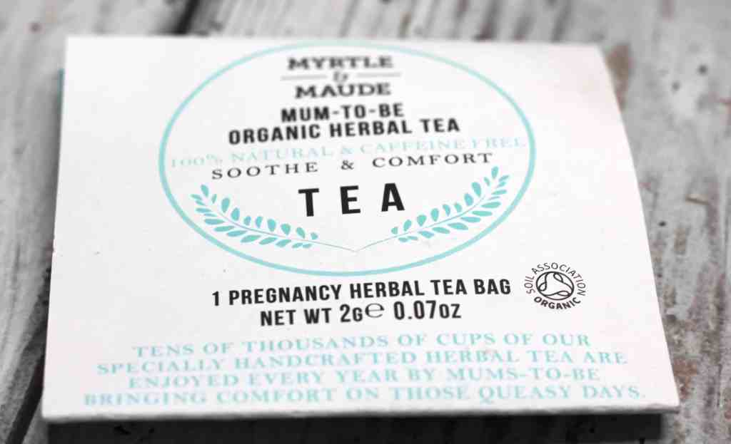 The Pamper Box for Pregnancy tea