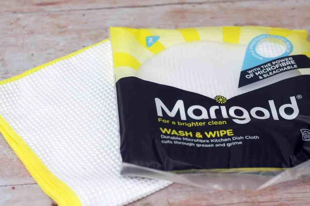 Marigold wash and wipe cloth