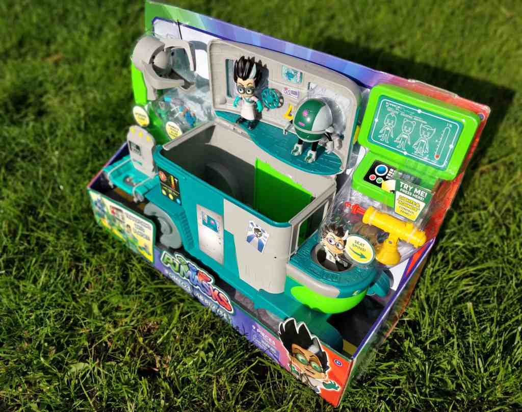 PJ Masks Romeo's Lab box