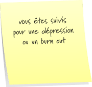 dépression, burn out et sophrologie