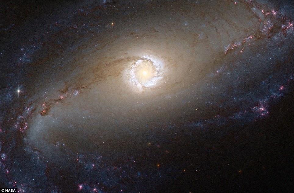 Constelación de Fornax a 45 millones de años luz de distancia