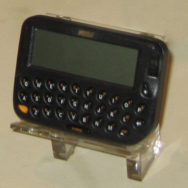 Con ustedes: el primer BlackBerry.