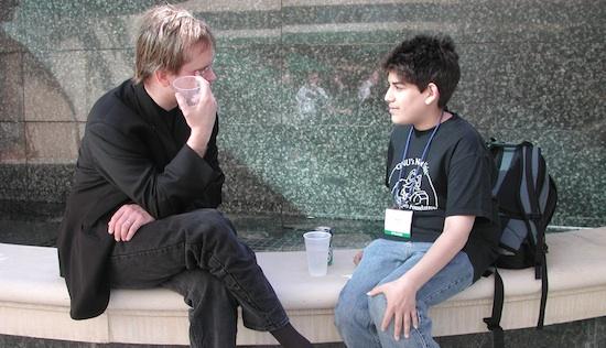 Lawrence Lessig y Aaron_Swartz